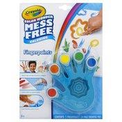 Crayola Fingerpaints, Coloring