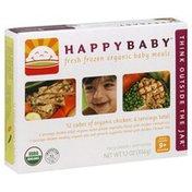 Happy Baby Baby Meals, Fresh Frozen Organic, Assorted, 9+ Months