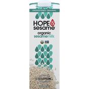 Hope & Sesame Sesamemilk, Organic, Unsweetened Original