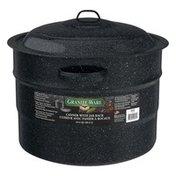 Granite-Ware 21.5 Quart Canner with Jar Rack