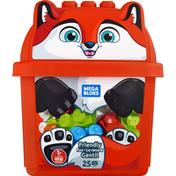 Mega Bloks Toy, Friendly Fox, 25 Pcs