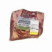 Smithfield Bone In Pork Shoulder Butt Roast