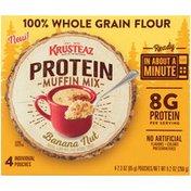 Krusteaz Banana Nut Protein Muffin Mix