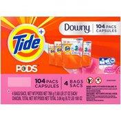 Tide PODS Liquid Laundry Detergent Pacs, April Fresh