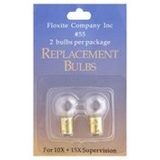 Floxite Replacement Bulbs, No. 55