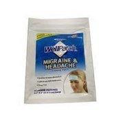 Mentholatum Wellpatch Migraine & Headache Cooling Patch