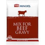 Minor's Beef Gravy Mix