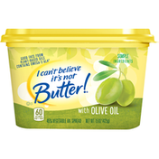 I Can't Believe It's Not Butter Buttery Spread Olive Oil