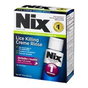 Nix Lice Killing Creme Rinse