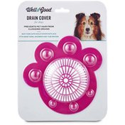 Well & Good Pink Vinyl Gum Drain Cover