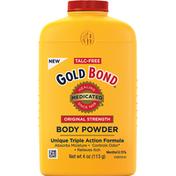 Gold Bond Body Powder, Original Strength, Medicated