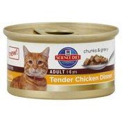 Hill's Science Diet Cat Food, Premium, Adult, Tender Chicken Dinner