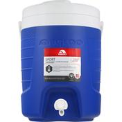 Igloo Beverage Cooler, Blue, Sport, 8 Quarts