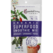 Essential Living Foods Smoothie Mix, Superfood, Organic