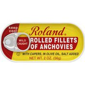 Roland Anchovies, Rolled Fillets