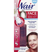 Nair Hair Remover, Face Roll-On Wax Kit