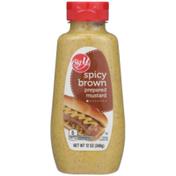 Big Y Spicy Brown Prepared Mustard