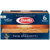 Barilla Whole Grain Thin Spaghetti Whole Grain Thin Spaghetti