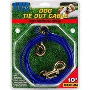 Coastal Pet 10' Titan Dog Medium Tie Out Cable
