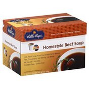 Kettle Kups Soup, Homestyle Beef, Cups