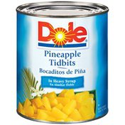 Dole In Heavy Syrup Pineapple Tidbits