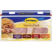 Butterball Deli Meat, Variety Pack