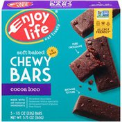 Enjoy Life Foods Cocoa Loco Soft Baked Chewy Bars