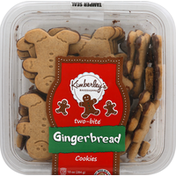 Kimberley's Cookies, Gingerbread, Two-Bite