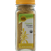 Wild Harvest Ginger, Organic, Ground
