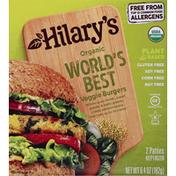 Hilary's Veggie Burger