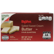 Hy-Vee Salted Sweet Cream Butter