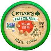 Cedar's Foods Fat & Oil Free Original Hommus
