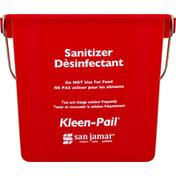 Kleen Pail Pail, Sanitizer
