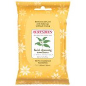 Burt's Bees Facial Cleansing Towelettes Display
