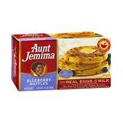 Aunt Jemima Waffles Blueberry - 10 CT