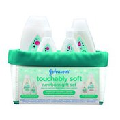 Johnson & Johnson Touchably Soft Newborn Gift Set