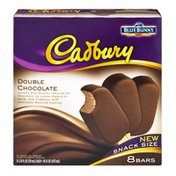 Blue Bunny Cadbury Double Chocolate Snack Size Ice Cream Bars - 8 CT