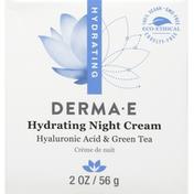 DERMA E Night Cream, Hydrating