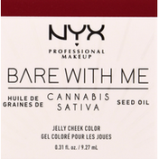 NYX Professional Makeup Jelly Cheek Color, Cherry Smash BWMCJ05