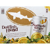 Dogfish Head Belgian-Style Witbier, Namaste White
