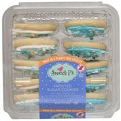 Sweet P's Frosted Sugar Cookies