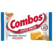 Combos Cheddar Cheese Cracker Baked Snacks