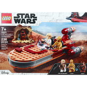LEGO Building Toy, Luke Skywalker's Landspeeder, 236 Pieces, 7+