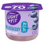 Light + Fit Nonfat Gluten-Free Blueberry Yogurt