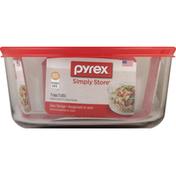 Pyrex Glass Storage, 7 Cup