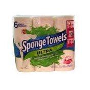 Sponge Towels 6 Roll Choose A Size Ultra Paper Towel