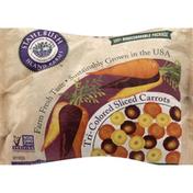 Stahlbush Island Farms Carrots, Tri-Colored, Sliced
