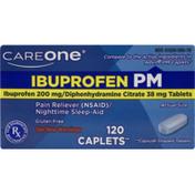 CareOne Ibuprophen PM Caplets