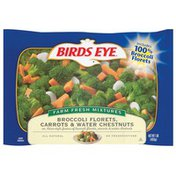 Birds Eye Broccoli Florets Carrots & Water Chestnuts