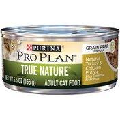 Purina Pro Plan Natural Grain Turkey & Chicken Free Pate Wet Cat Food